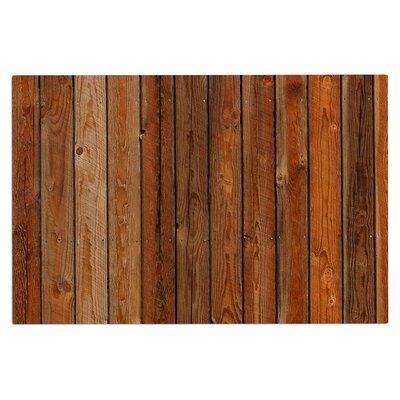 Rustic Wood Wall Nature Decorative Doormat