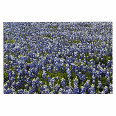 Purple Flower Lavender Fields Doormat