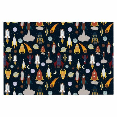 Rockets Celestial Decorative Doormat