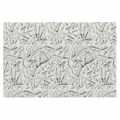 Apocalyptic Weapons Urban illustration Decorative Doormat