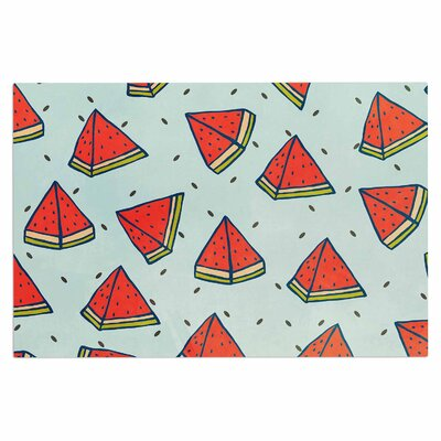 Watermelon Pattern Summer Love Food Decorative Doormat