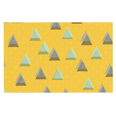 Triangles Doormat