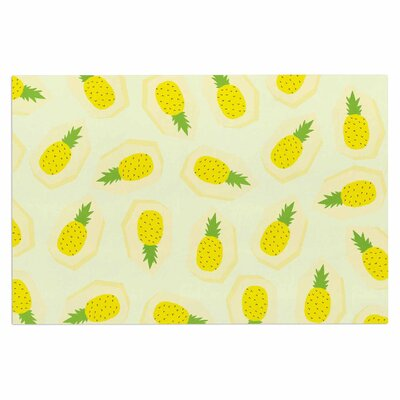Pineapple Pattern Fruit Decorative Doormat