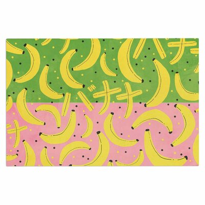 Banana Doormat Color: Yellow/Green/Pink