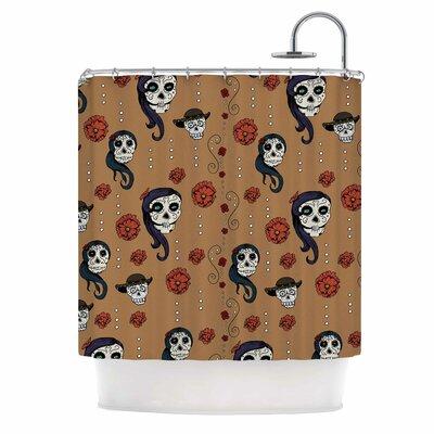 Calaveras Shower Curtain