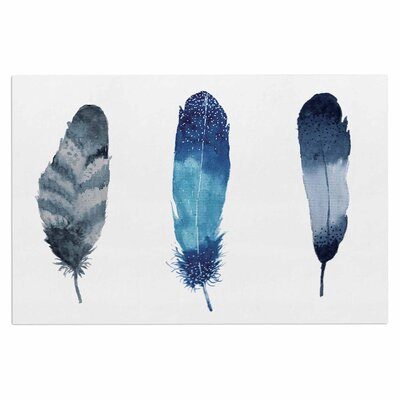 Three Feathers Doormat