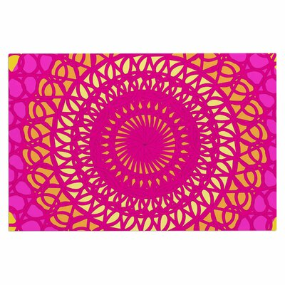 Radiant Pomegranate Doormat