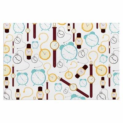 Clocks Doormat