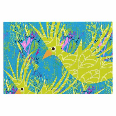 Tropical Fly-By Doormat