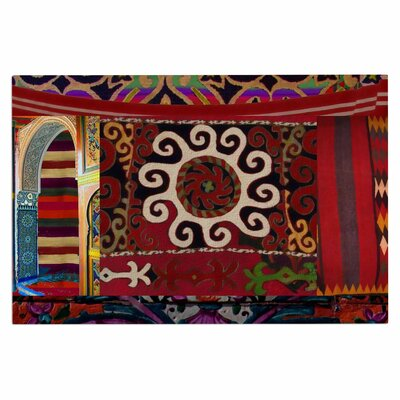 Burst of Diverse Ethnic Decorative Doormat
