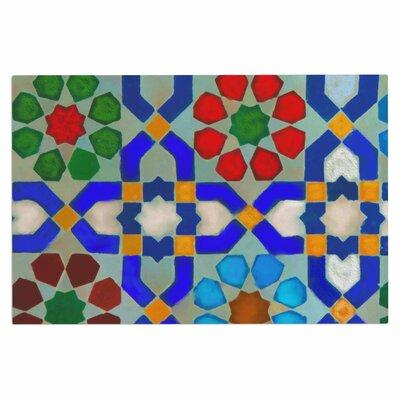 Morrocon Blues Doormat