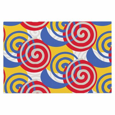 Dynamic Swirls Multi Doormat