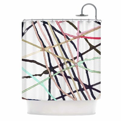 Love Tangle Shower Curtain