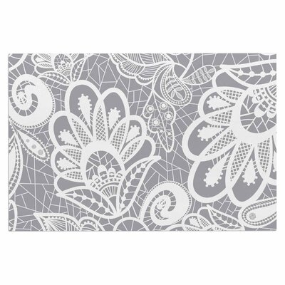 Lace Flower Doormat