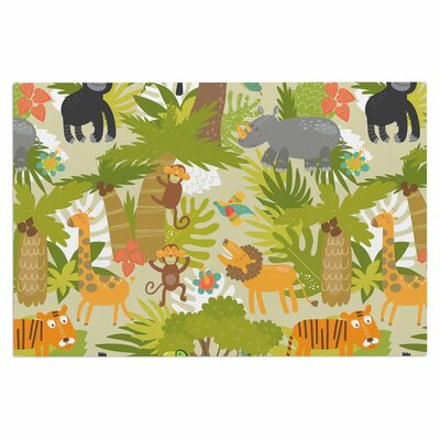 Roar of the Jungle Doormat
