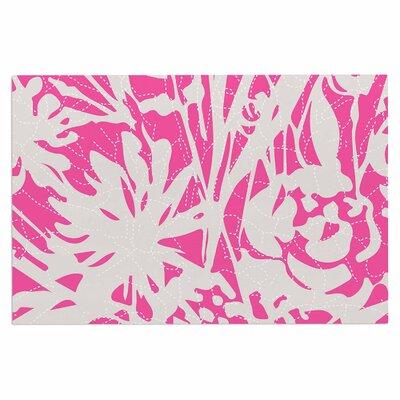 Inky Floral Peony Doormat