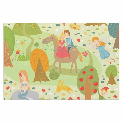 Fairy Tale Fantasy Illustration Decorative Doormat