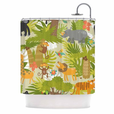 Roar of the Jungle Shower Curtain