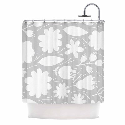 Leaf Digital Shower Curtain