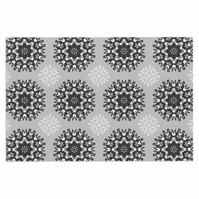 Princess Vector Decorative Doormat Color: Black/White/Gray