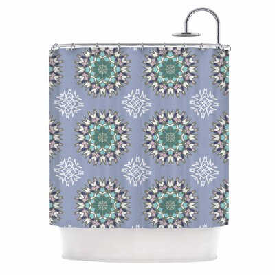 Princess Shower Curtain Color: Purple/Green