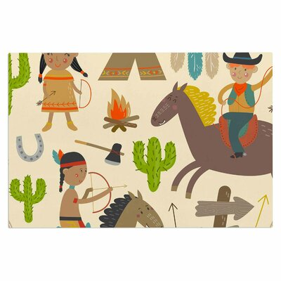 'Tipi' Kids Decorative Doormat