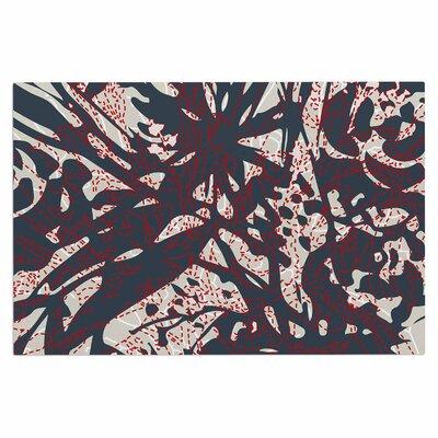 Inked Floral Latte Doormat