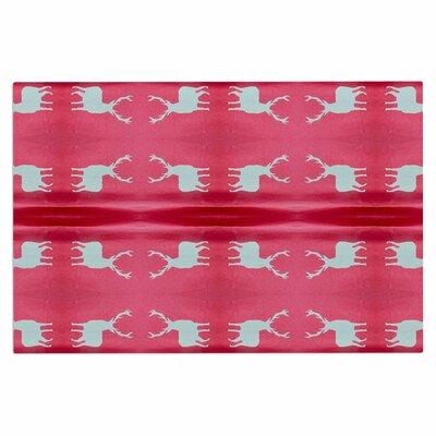 Deer Tie Die Doormat