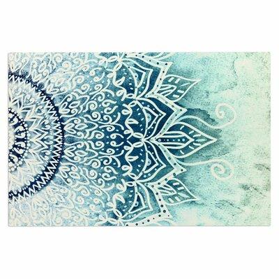 Blue Mina Mandala Doormat