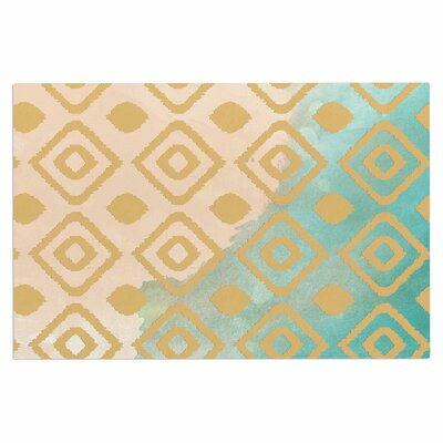 Watercolor Ikat Doormat