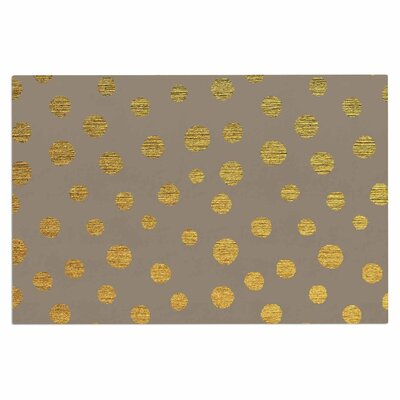 Earth Golden Dots Doormat