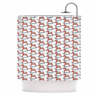 Dala Horse Shower Curtain
