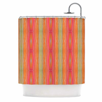 Summer Tie Dye Shower Curtain