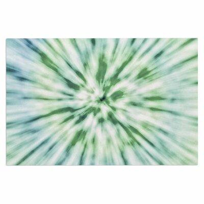 Green Spring Tie Dye Doormat