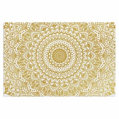 'Gold Mandala' Doormat