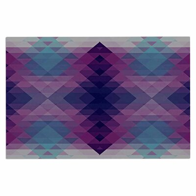 Hipsterland Doormat Color: Purple/Teal