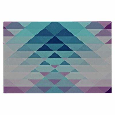 Hipster Girl Doormat Color: Blue/Lavender