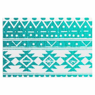 Aquamarine Tribal Doormat