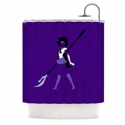 Saturn Senshi Shower Curtain
