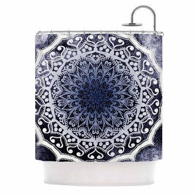 Siam Mandala Illustration Shower Curtain