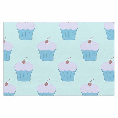 Blue Cupcakes Doormat