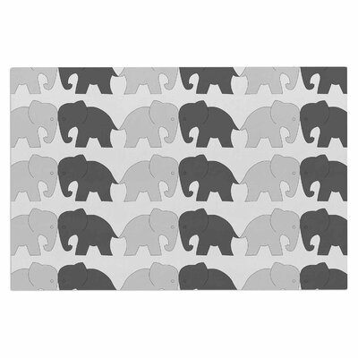 Elephants on Parade Doormat