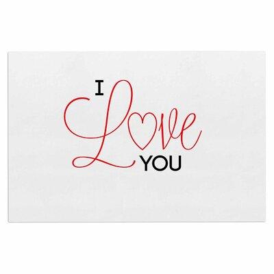 I Love You Doormat