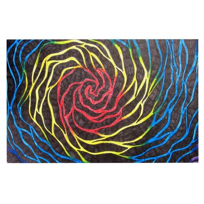 Rainbow Vortex Doormat