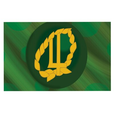 Jupiter Emerald Decorative Doormat