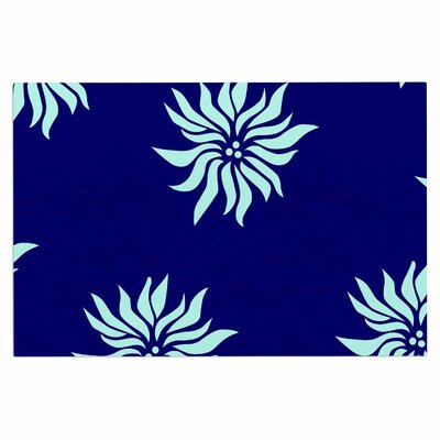 Snow Flowers Doormat