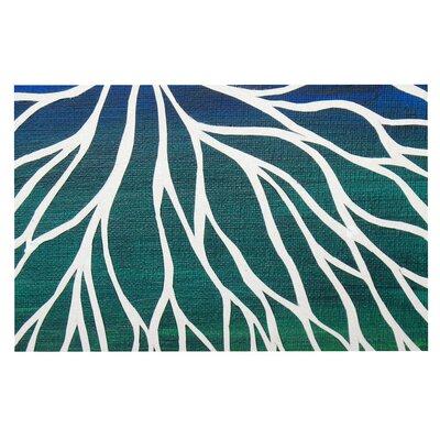 Ocean Flower Doormat
