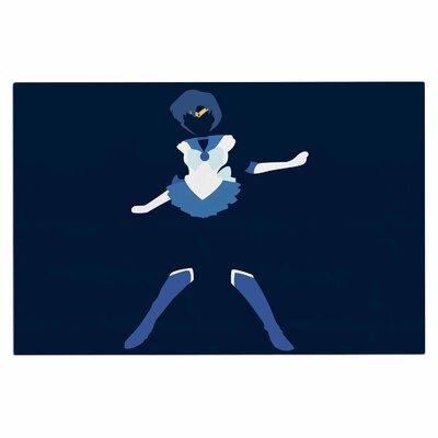 Mercury Senshi Doormat