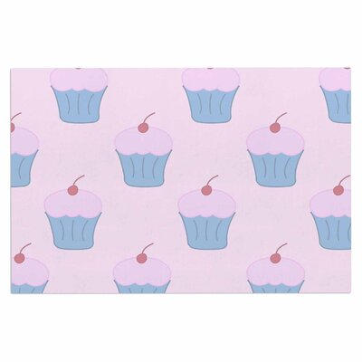 Pink Cupcakes Blush Decorative Doormat