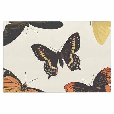 Vintage Butterflies Doormat